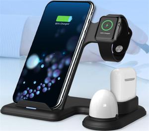 Новый Amazon Взрыв 4 в 1 Мобильный телефон гарнитура часы Многофункциональный беспроводной зарядки Practical Быстрая зарядка