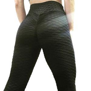 Elastic dimagrante Peach natica pantaloni di yoga professionali in corso di sport esercitazione del Fitness Pantaloni palestra Fianchi esterni sollevamento Pants