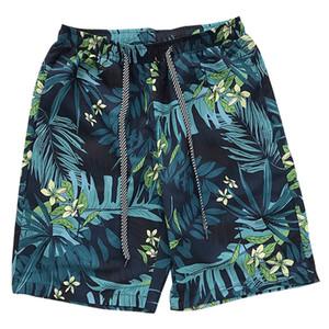 Pantaloncini leggibili da uomo Uomo Estate Stampa Hawaii Pantaloni corti da uomo Allentati con coulisse Casual Hip Hop Pantaloncini anime Pant 2019 SH190702