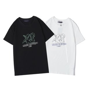 Luxuryshirt Men Fashion Top Tees Summer Mens DesignerShirts Angel Pattern T-shirts Casual Tops Women Hot Shirts Size S-2XL 2020794K