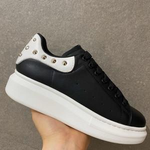 Erkekler Kadınlar Platformu Loveres Günlük Ayakkabılar Boş Ayakkabı Moda Sneakers kadın ayakkabı Deri Louisfalt Dikenler Casual Üst Kalite