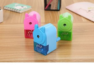 Pencil Sharpeners Hand-cranked Pencil Sharpener Cartoon Learning Stationery Good Automatic Pencil Sharpener Cute Student Multi-function Penc