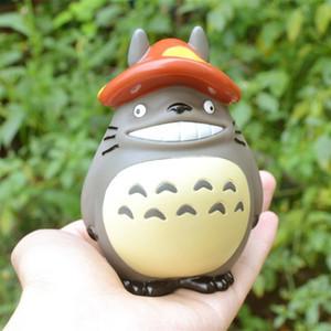 6 Designs 5 inch My Neighbor Totoro Action Figures Toys Miyazaki Hayao Model Toys PVC Car Decoration Doll With Retail Box TLA552