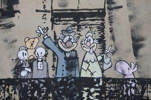 Pinturas de aceite de impresión Banksy mural pintado a mano de la decoración del hogar de alta definición en la lona de arte grande de la pared 200119 Fotos