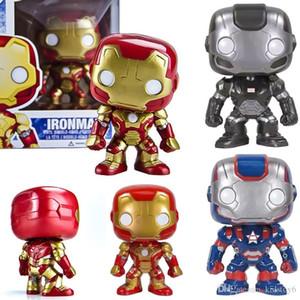 Bravo Funko Pop Iron Man 24 # Q Vervison аниме фигурку Коллекция Модель Hot Toys Дни рождения горячее