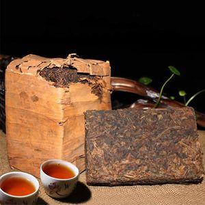 Горячие продажи 250г Спелая Пуэр чай Юньнань Классический Pu эр чай Органический Природные Pu'er старое дерево Приготовленный пуэр Кирпич черный Пуэр чай