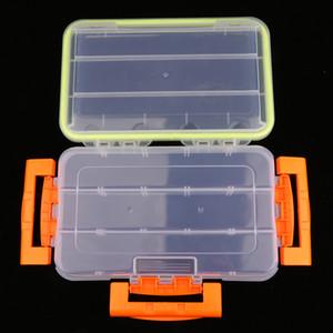 Premium Plastic Transparent Fishing Lures Bait Tackle Cell Storage Container Organizer Box
