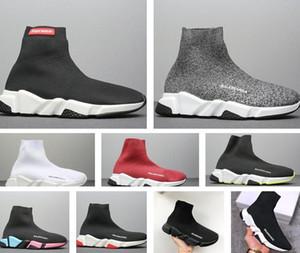 2020 progettista calza Balenciaga sport allenatore di lusso Mens delle donne scarpe casual tripler Etoile sneakers epoca calze stivali piattaforma traiO3mK #