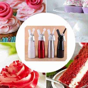500ML Crème Whipper en acier inoxydable Foamer Métal Whipper Café Dessert crème fraîche au beurre Distributeur Whipper mousse Maker ZZA2387