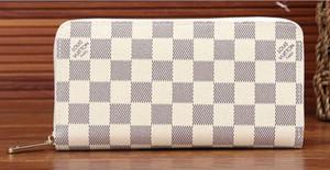borse di lusso caldo stilisti signora singolo cerniera a buon mercato portafogli borsa uomini donne pochette lunga portafoglio carta titolare tasca
