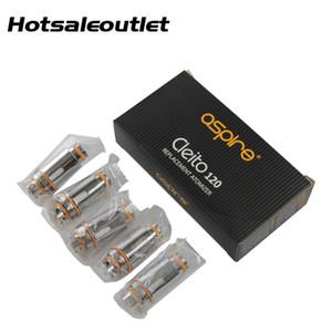 Aspire Cleito 120 Mesh Coil 0.15 Ом (60-75 Вт) Совместимо с Cleito 120 Pro / Cleito 120 Tank 100% оригинал