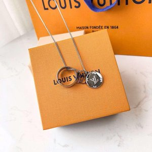 3-in-1 Couple Ring Pendant Want To See Top Luxury Necklace High Quality Titanium Steel Necklace Supply