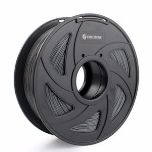 Freeshipping plastique flexible de filament TPU de l'imprimante 3D flexible pour la couleur de gris de matériaux d'impression de 1.75mm 1KG 3D de 3D