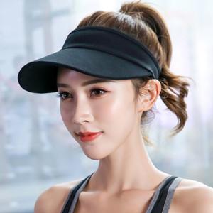 Fashion design ladies sunscreen sun hat outdoor sports baseball cap running empty top hat sunscreen hat