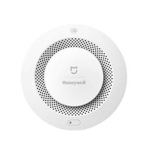 Orijinal Xiaomi Mijia Honeywell Akıllı Yangın Alarm Duman Dedektörü Alarm, Çalışma Fonksiyonlu Geçidi Mihome APP Kontrollü