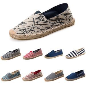 Новая мода женская повседневная повседневная обувь черный темно-белый дикий дешевые плоские туфли для любого случая открытый бег пешком main2