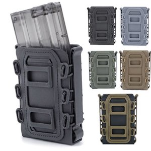 Tactical Airsoft FAST MAG Accesorio FAST Magazine Pouch Bullet Shell Box Fast 5.56 / 7.62 Magazine Magazine NO06-117