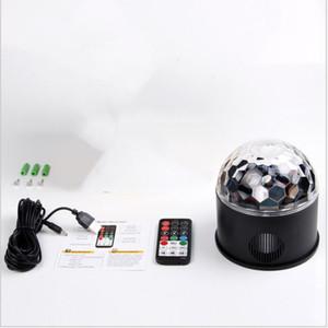 Laser Stage Lights Nouveau Lampe portative en mode RGB Seven éclairage Mini DJ Laser avec télécommande pour Christmas Party Club de projecteur LXL60-1