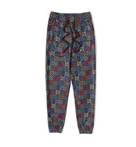 2020 nouveaux pantalons pour hommes d'été de la mode, le design de qualité haut de gamme, la mode design imprimé style couple tissu de haute qualité,