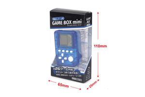 La última consola de juegos electrónica Palmtop mini tetris juego nostalgia juguete Tamagotchi Funny Kids Toys consola de juegos regalos de navidad