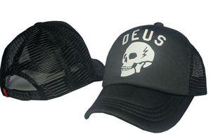 top Sale best Quality all black Golf cap for men and women 2d icon Unisex DEUS mesh Baseball Caps Casquette Peaked hat Sports Outdoors Caps