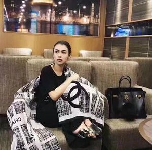 Luxo Inverno Cashmere Scarf Pashmina Para Mulheres Marca Designer quente Scarf Mulheres Moda imitar Cashmere Lã Longo Xaile Enrole 180x70cm