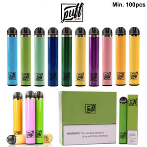 Puff Xtra Disposable Vape Pen 5.0ml Pods 1500 Puffs Huge Vapor Disposable E-cigarette With Valid Security Code