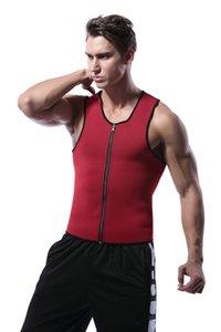 BNC는 슬리밍 조끼 네오프렌 셰이퍼 남자 슬리밍 코르셋 바디 셰이퍼 체육관 코르셋 자세 허리 트레이너 트레이닝 스포츠 땀 Cinchers