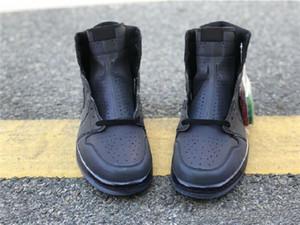 2019 zapatos venta 1 zoom Miedo baloncesto de los zapatos del alto diseño reflexivo Negro y verde trébol rojo del equipo universitario R2T camaleón 3M Chaussures zapatillas de deporte