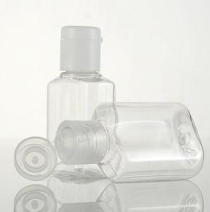 20 ml-Plastikflasche leere Plastik Probe Flip Cap Flasche Flüssiges Make-up Container Reise Seife Flasche KKA7757