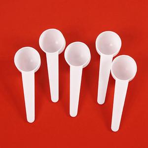 20ML PP قياس البلاستيكية المجرفة البلاستيك 10G قياس ملعقة الأبيض التوابل مسحوق الحليب الخبز الطبخ أدوات المطبخ الخبز HHA1342