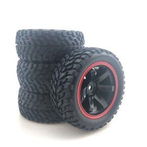 1:10 de la reunión del coche Neumáticos de goma de 75 mm y llantas de 1/10 Escala de HSP 94123 HPI Kyosho Tamiya RC en el coche del camino