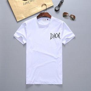 New 2019 Mens-Sommer-T-Shirts in Übergrößen Kurzarm T-Shirt Milk Printed Cotton T-Shirt 3D-Designer Kleidung M-XXXL Golf-T-Shirt # 72