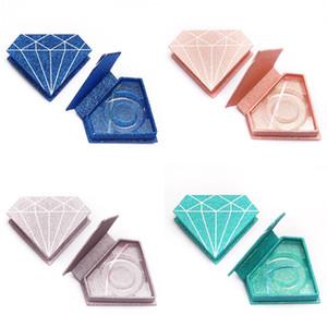 ambalaj kirpik ambalaj kutusu Yanlış Kirpik Packaging Kutu Lash Kutuları Özel Logo Şerit Kare Kutu Depolama kirpik kutuları