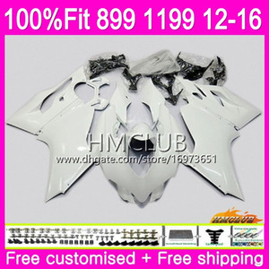 Injection Body For DUCATI 899 1199 S R Panigale 12 13 14 15 16 32HM.5 Pearl White 899R 1199R 899S 1199S 2012 2013 2014 2015 2016 Fairing