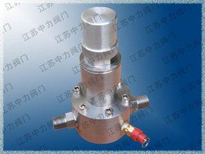 Manual gas pressure regulator