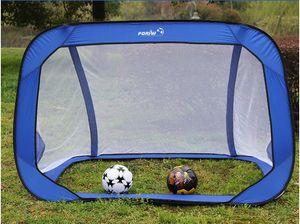 1800 * 1200 * 1200MM طوي بوابة كرة القدم صافي بوابة الهدف خارج قوي المحمولة ممارسة كرة القدم بوابة للأطفال الطلاب تدريب كرة القدم