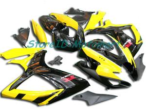 Kit de rebarba para SUZUKI GSXR600 750 K8 08 09 GSXR600 GSXR750 2008 2009 Conjunto de Carcaças Cool SA67