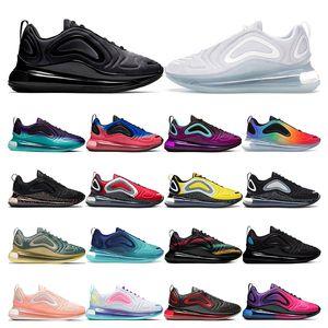 nike air max 720   Hotsale chaussures de course pour homme Neon triple blanc noir coucher de soleil DESERT GOLD NORTHERN LIGHTS DAY femmes sport sneaker formateur taille 36-45