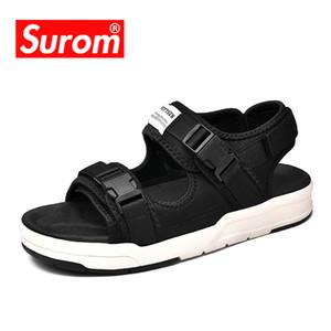SUROM Unisex Yaz Sandalet Açık Moda Erkekler Kadınlar Günlük Platformu Sandalet Denizi ve Plajı için Rahat Hafif