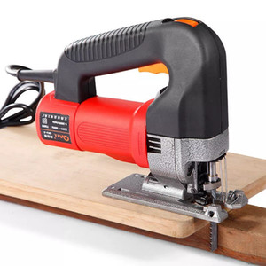 220V 750W Electric Handle Orbital Jig Saw Woodworking Curve Chainsaw Cut Tool US Plug