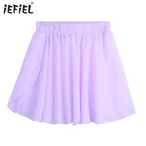 Mini Girls Skirts Summer Fashion Chiffon Pull-On Wrap Skirt Baby Girl Dance Clothes Costume Party Ballerina Dress-up Skirt