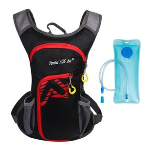 2L Water Bag Cycling Riding Hydration Backpack Nylon Water Bladder Tank Men Women Outdoor Camping Running Mochila Pack Bicycling