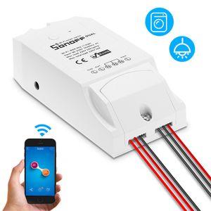 SONOFF dupla ITEAD 2 CH WIFI Switch Inteligente para Alexa Página inicial do Google Ninho Universal Controlo remoto sem fios interruptor de Smart Home