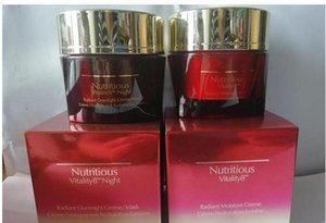 Factory Price Nutritious Vitality 8 Radiant Moisture Creme Hydration Day and Night Cream 2pcsset 50ml+50ml Dropship