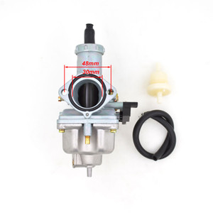 Dual Throttle Kablo ile Keihin ABM IRBIS TTR 250 için Pompa Yarış CG200 cG250 200cc 250cc Hızlanan PZ30 30mm Karbüratör