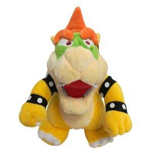 25cm Super Mario os Kubah dragon Bowser Koopa peluche enfants Cartoon douce peluche Poupées jaune Bowser