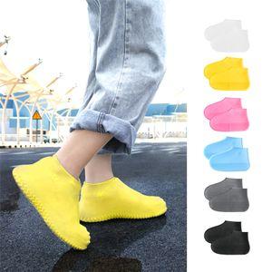 Wasserdichtes Schuhabdeckungs-Silikon-Schuhe Protektoren Regen Stiefel Overshoe faltbare Galoschen für Outdoor Rainy Days JK2001