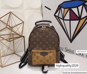 41560 20 31 10 Hot Classic Colors Brwon Letter Logo Women Backpack Men Leather Shouler Bag Free Shipping M --