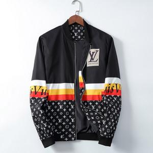 vendita calda mens progettista giacca designer del cappotto del rivestimento dei nuovi con lettere Windbreaker Zipper cappuccio per gli uomini Sportwear Tops Abbigliamento